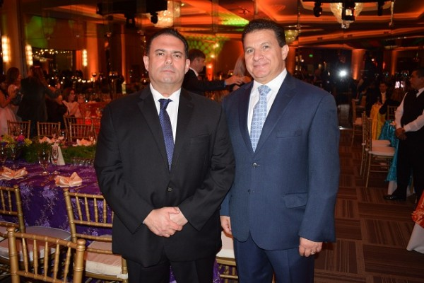 Rodolfo Handal y Jesus Canahuati