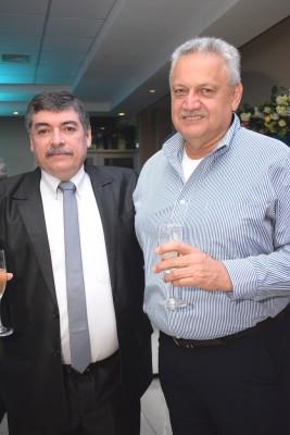 Roque Flores y Marcio Rivera.