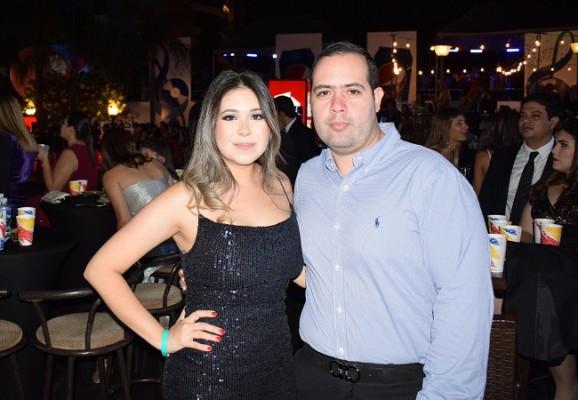 Rosa Abadie y Kevin Segurado