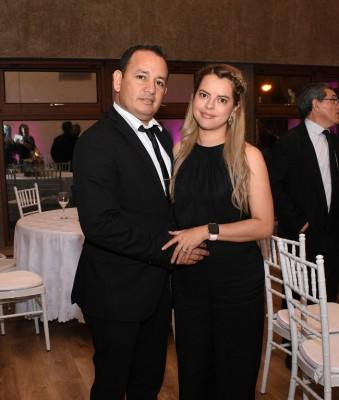 Santos Godoy y Glenys de Godoy