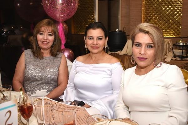 Sarbia Collins, Xiomara Sikaffy y Brenda Sabillón