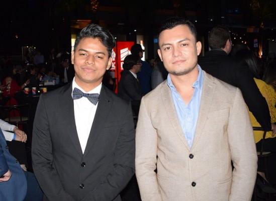 Sheldon Eduardo Pascon y Daniel Francisco Gómez.