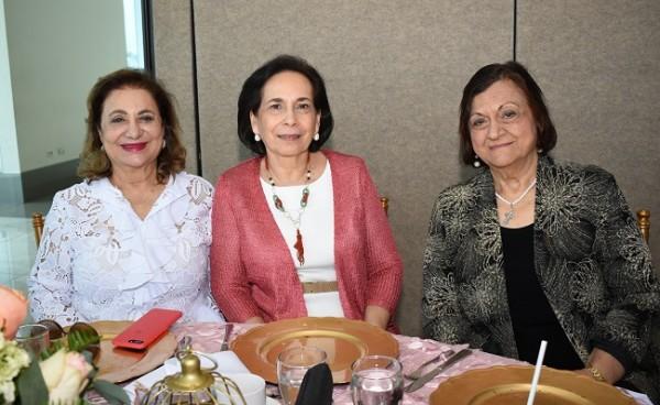 Suyapa Fuschich, Ana Larach y Muna Musleh