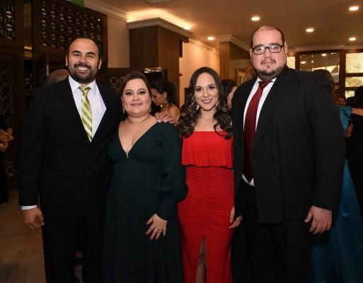 William y María Gabriela Ramjallacksingh, Ligia Andrade y Luis Alvarado