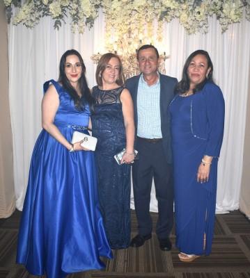 Yoseth Rivera, Iris Cuellar, Inmer Rivera y Maura Herrera