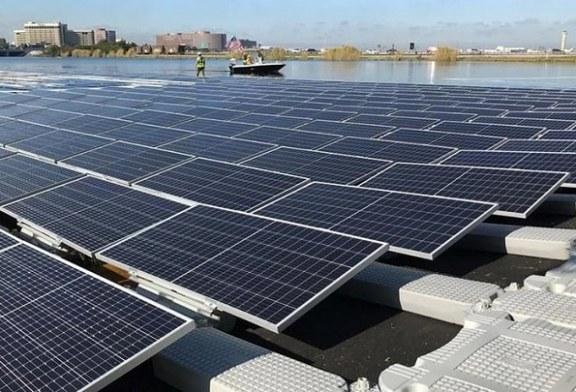 Inauguran primera plataforma flotante de energía solar en un lago de Miami