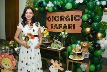 Un Giorgio safari dándole la bienvenida al bebé de la familia Ferraro-Juárez