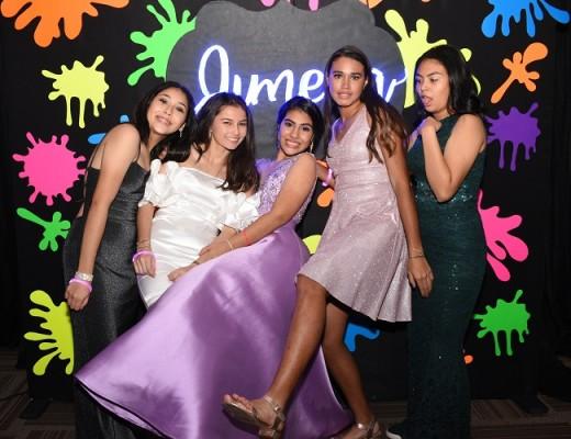 Ángela Cribas, Yarah Agüero, Jimena Fernández Brito, Victoria Aparicio y Valeria Ramírez.
