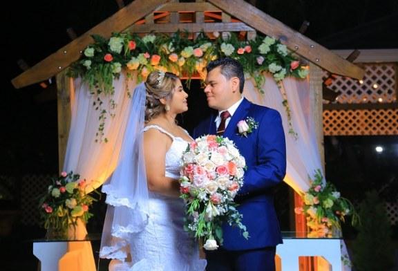 La boda de Óscar y Abigail…un enlace lleno de personalidad