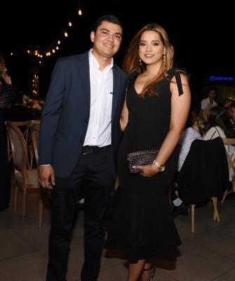 Cecilia Mendoza y José Savillón