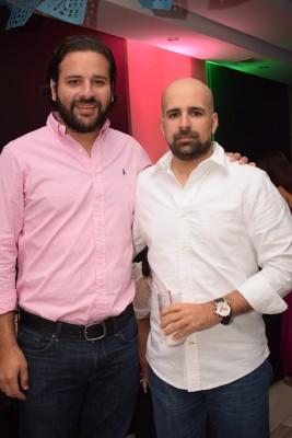 David Monterroso y Roberto Calderón.