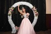 María Elena Calix en las 15 primaveras de una preciosa balletista