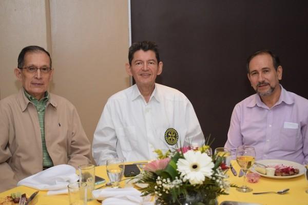 Diego Zerón, Roberto Kattán y Darío Rivera