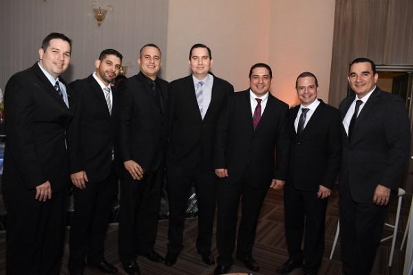 Ernesto Fiallos, Yankel Valladares, Sergio Paz, Gustavo Fiallos, David Zavala, Gabriel Pérez y Leónidas Moya