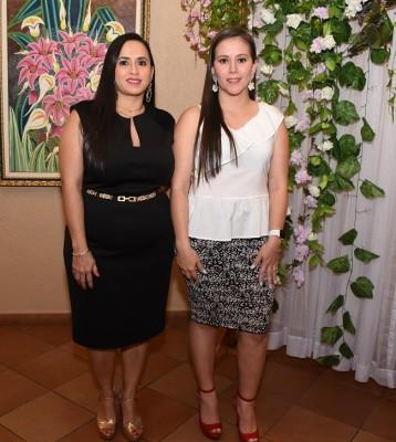 Fanny Tabora y Ana Sabillón