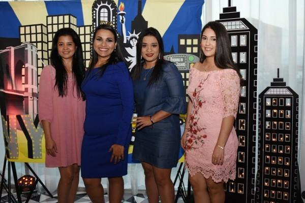 Francis Ávila, Martha Isabel Gutiérrez Chinchilla, Laura Solano y Clarissa Alvarado