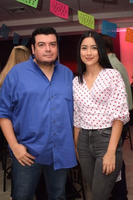 Francisco Zúniga y Jessica España.