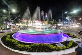 Concluida remodelación de la Fuente Luminosa en avenida circunvalación de San Pedro Sula