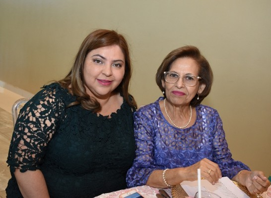 Gissel García y Mercedes García.