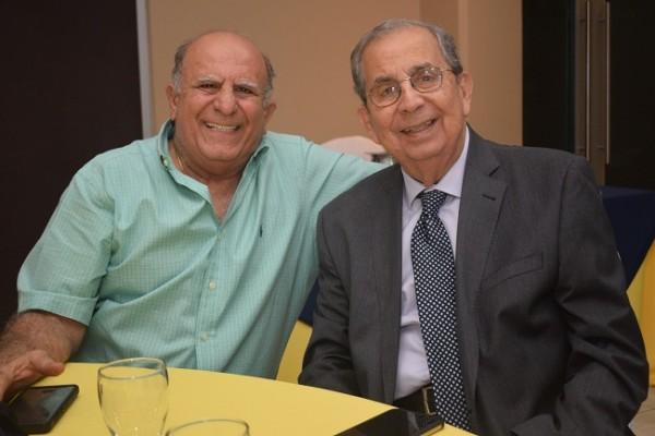 Jack Kattán y José Francisco Saybe.
