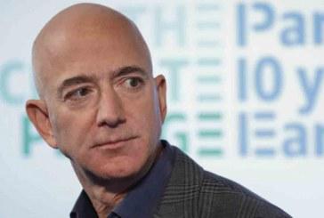 El fundador de Amazon, Jeff Bezos gana 13 mil millones de dólares en 15 minutos