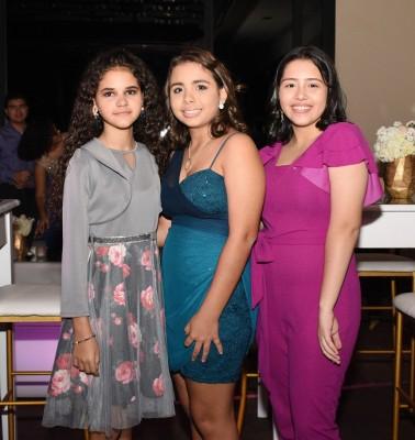 Kristel Handal, Marisol Paz y Grace Pineda