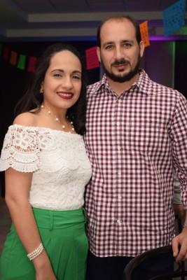 Laura y Daniel Calderón