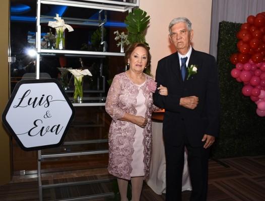 Los padres de la novia, Jorge Camacho y Ana Dina Varela de Camacho
