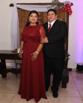 Los padrinos de boda, Luisa Alejandra Mejía y Juan Carlos Girón