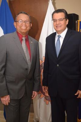 Mario Gómez y Ramón Fuentes.