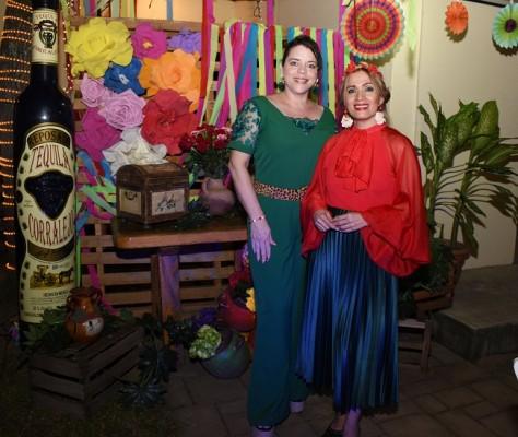 Merlyn Erazo y Patty Girón