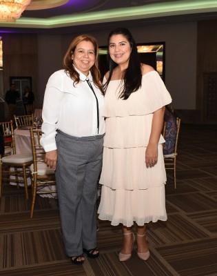 Miriam Gómez y Geraldina Bonilla