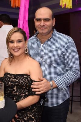 Siara Cruz y Eduardo Handal.