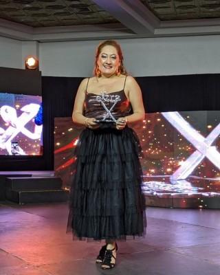 Sonia Mejía galardonada con el Premio eXtra 2020 a su trayectoria de 20 años en Responsabilidad Social Empresarial. Felicidades!!