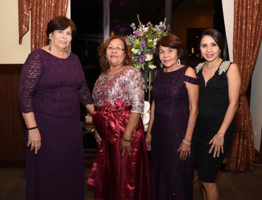 Trinidad Méndez, Vilma Núñez, Leticia Núñez e Isamar Castro