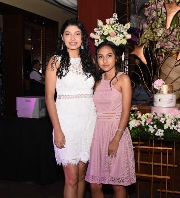 Victoria Castro y Mauda Argueta