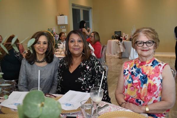 Yolanda Rápalo, Martha Emilia Sagastume y Eneida Martínez