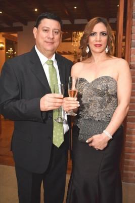 Óscar y Noelia Hawit.