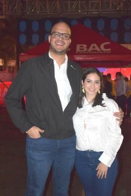 Aníbal y Michelle Hernández.
