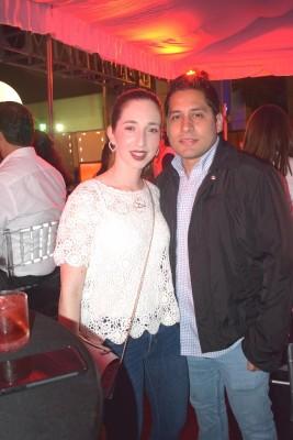 Ana María y Jorge Larach.