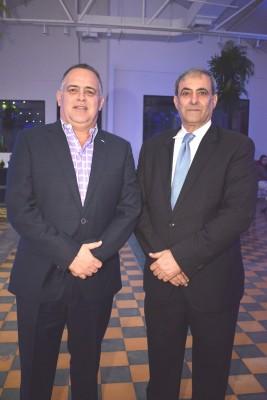 Armando Calidonio y Karim Qubain.