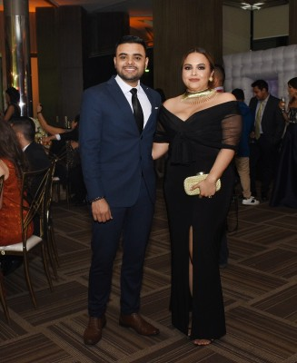 Carlos López y Katterine Flores