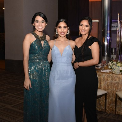 Carmen López, Ninoska Rivera y Keyleen Reyes