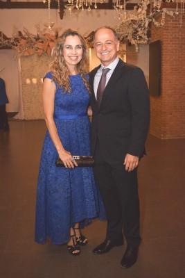 Chantal y Jason Hawit.