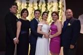 Romántica unión matrimonial de Daniel Rodríguez y Andrea Guerra