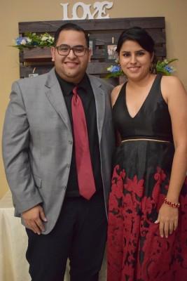 Edwin Caballero y Silvia Reyes