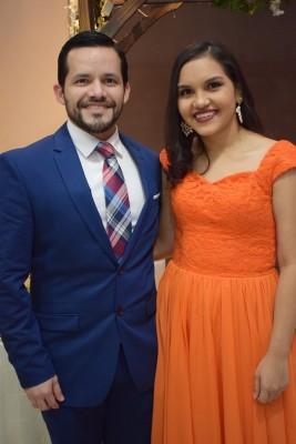 Armando Ramos y Cindy García