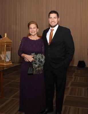 Elda Prieto de Echeverri y Gerardo Echeverri