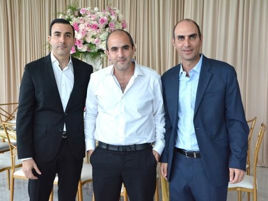 Farid, Andrés y Davis Handal