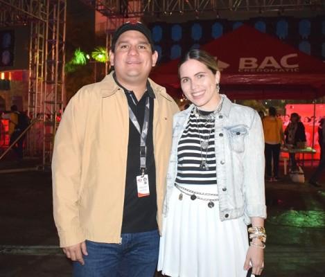 Gustavo y Daniela Palacios.